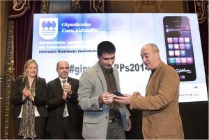 Ganadores del concurso GipuzkoApps 2014